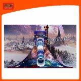 El tubo de 360 grados deslice el volcán de escalada infantil