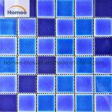 Forma cuadrada de 48*48 nuevos productos de piscina mosaico de cerámica azul