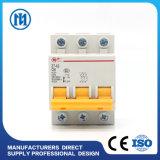 C40 mini solo corta-circuito miniatura moldeado poste del caso MCB con la protección IP20