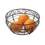 둥근 금속 부엌 과일 홀더 바구니
