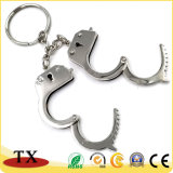 Le souvenir frais menotte la chaîne principale en alliage de zinc en métal de forme et la boucle principale