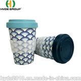 高品質は競争価格の方法コーヒーカップの生物分解性のタケファイバーのコップを汚さない