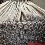 Acero inoxidable de gran diámetro de manguera de metal flexible trenzado con