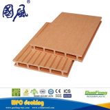 Decking en bois extérieur du composé WPC d'usine