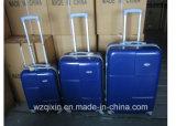 軽量ABS+PCの堅いシェル4の車輪の紡績工のスーツケースの3部分の荷物セット