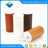 Tube de carton ronde personnalisée avec Shaker couvercle en plastique
