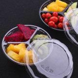 WegwerfPVC/PP/Pet Plastikbehälter des heißen Verkaufs-für Nahrung/Fleisch/Frucht/Kuchen/Schnellimbiß