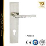 Tür-Verschluss-Zink-Legierungs-Griff mit Zylinder-Platte (7026-z6073)