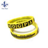 Wristbands promozionali su ordinazione speciali poco costosi del silicone di prezzi di fabbrica