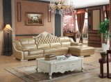 Mordenのソファーの居間の本革のソファー(SBL-9194)