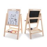 Het houten Tweezijdige Afneembare OnderwijsSpeelgoed van het Tekenbord van de Kinderen van de Schildersezel