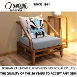 Sala de estar moderna mobília Hotel sofá de tecido (CH-611)