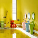 Санитарные продовольственный керамические детей пьедестал бассейна для детских садов (B2001)