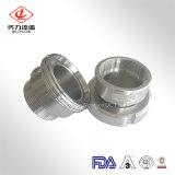 Ferrule DIN продукта новой модели изготовленный на заказ санитарной продетый нитку нержавеющей сталью