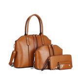 새로운 4PCS 숙녀 Handbags Women Bags 4in1 숙녀 핸드백에 의하여 놓이는 지갑 카드 홀더 (WLD0703)