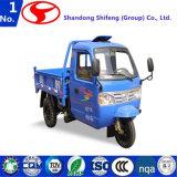 中国の大人または右手駆動機構の三輪車のための三輪車またはモーターを備えられた三輪車の電池式の三輪車またはガーナモーター三輪車かモーターを備えられた貨物三輪車