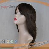 Menschenhaar-preiswerte Frauen-Perücke (PPG-c-0088)
