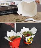 Impresión a todo color para llevar la comida rápida ronda de cajas de cartón