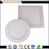Quadratisches PF>0.9 Aluminium-LED Panel Downlight mit Dimmable