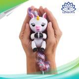 Jouet de doigt de singe de licorne de bébé d'animal familier de poissons jeunes de Veille de la toussaint Chirstmas pour des cadeaux de gosses d'enfants