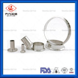 En acier inoxydable à embouts du tuyau hydraulique de la fabrication CNC