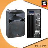 15 duim Bluetooth 5 de Plastic Actieve Spreker van de Band EQ met FM pS-1915fbt