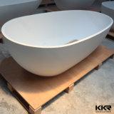 رخيصة سعر أبيض مستطيلة حجارة اصطناعيّة حمام [فريستندينغ]