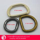 Metal do projeto do OEM sobre o anel-D para a bolsa e o portátil