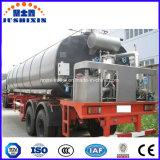 de Vloeibare het Verwarmen 35/28m3 3axles Aanhangwagen van de Tank van het Bitumen van de Vrachtwagen Semi