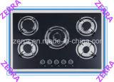 apparecchio di cucina della fresa del gas di vetro Tempered di spessore di 8mm (JZS2001)