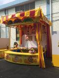 Cabine mestra dos jogos do carnaval do basquetebol
