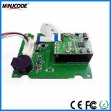 OEM Lector de códigos de barras montadas fijas, incrustado de escáner de códigos de barras CCD 1d, del módulo del motor de inducción automática opcional, Mj E1202