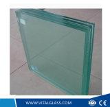 Desobstruído/cinzento/vermelho/azul/vidro de construção laminado Greentempered (L-M)