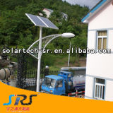 Bridgelux 140lm 30W-100W Luz Rua Solar com luz LED no Quênia