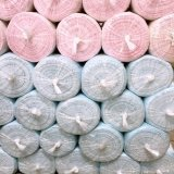 물자 늑골 직물을 뜨개질을 하는 직업적인 생산은 어떤 색깔든지 할 수 있어 정지한