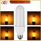 Nueva bulbos simulados 2017 del maíz del fuego de la naturaleza del efecto de la llama del LED luz E26 E27