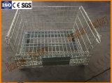 Lager-Speicher-Stahlmaschendraht-Ladeplatten-Sortierfach mit Rädern