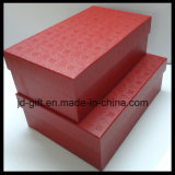 Caja de regalo de cartón de papel personalizado para Zapata, chaqueta, tela