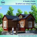 生きているホームのための鉄骨構造の現代デザイン別荘の家