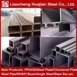 Sección hueco galvanizada de los tubos de acero