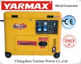 Yarmax Silent дизельного генератора портативный экономической генераторах Ce ISO утвердил 6 КВА Ym 6.5kVA9700t