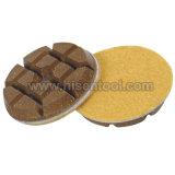 Almofadas de polir de resina para polir no chão de concreto