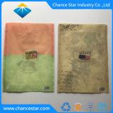 Custom A4, dossier de documents en plastique avec la magie de fermeture de l'autocollant