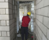 De nu Concrete Automatische het Pleisteren van de Muur Machine van de Mixer