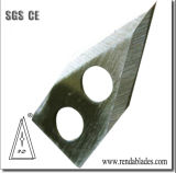 304 En acier inoxydable 440 de forme spéciale déchiqueteuse de cisaillement de lame de couteau pour légumes fruits l'industrie