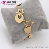 63257 Copper Alloyの方法Highquality Gracefulの金PlatedのStar Women Jewelry Set