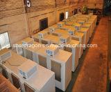 положенный в мешки емкостью бункер льда 1000lbs с холодной системой стены