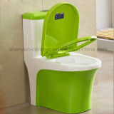 Cerámica de color One-Piece WC WC S-Trap (A-031)