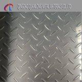 Tôle d'acier Checkered galvanisée plongée chaude de S235jr