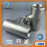 Het Gelijke T-stuk van het Roestvrij staal van de Montage van de pijp aan ANSI B16.9 (KT0347)
